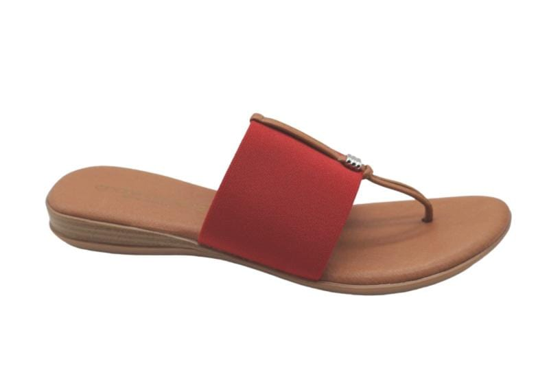 Andre Assous Nice Red Sandal