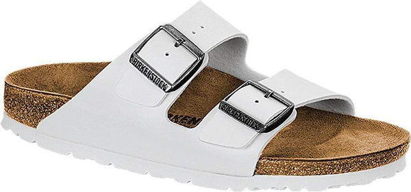 Birkenstock Arizona Birko-Flor White SFB - Narrow