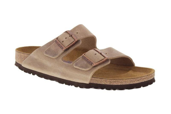 Birkenstock Arizona Tobacco Leather SFB Sandal - Narrow