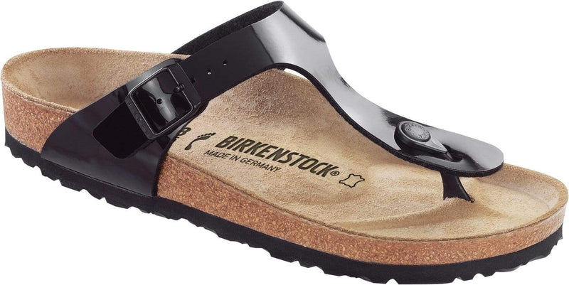 Birkenstock Gizeh Black Patent Leather - Narrow