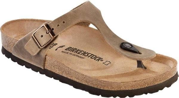 Birkenstock Gizeh Tobacco Oiled Leather - Toe Thong