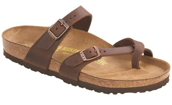 Birkenstock Mayari Habana Oiled Leather Sandal