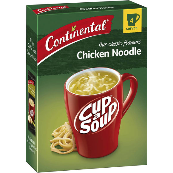 Continental Cup A Soup Classic Chicken Noodle Chicken Noodle 4 pack