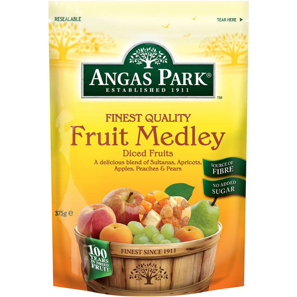 Angas Park Fruit Mix Medley 375g