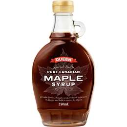 Queen Pure Maple Syrup 250ml
