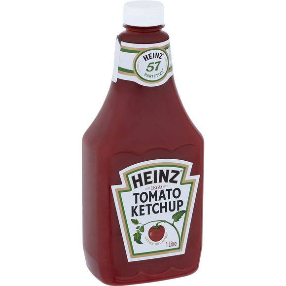 Heinz Tomato Sauce Ketchup All Natural Squeezy 1l