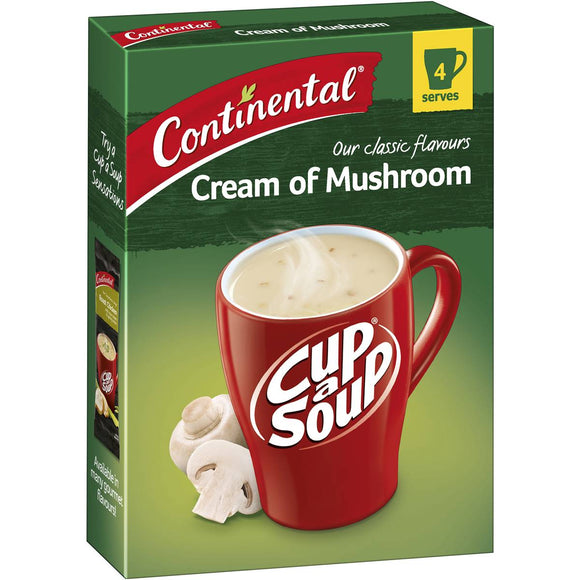 Continental Cup A Soup Classic Cream Of Mushroom 70g