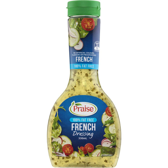 Praise Dressings French Fat Free 330ml