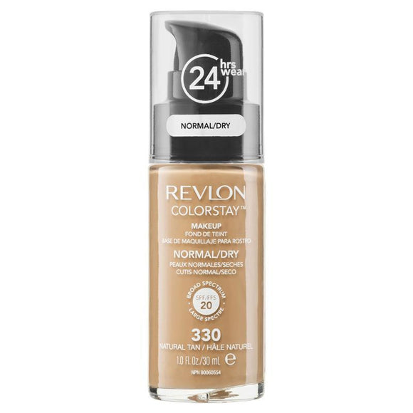 Revlon ColorStay Makeup with Time Release Technology for Normal/Dry Natural Tan