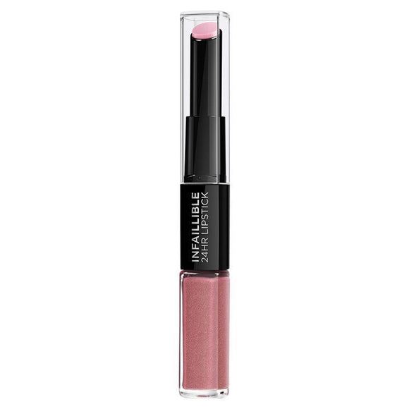 L'Oreal Infallible 2-Step Lipstick 110 Timeless Rose