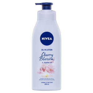 Nivea Body Oil In Lotion Cherry Blossom Jojoba 400ml