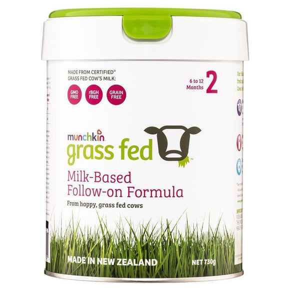 Munchkin Grass Fed Milk-Based Follow On Formula Stage 2 730g Online Only
