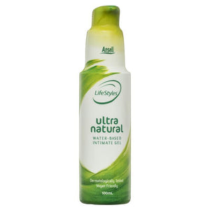 Ansell LifeStyles Ultra Natural Lubricant 100ml