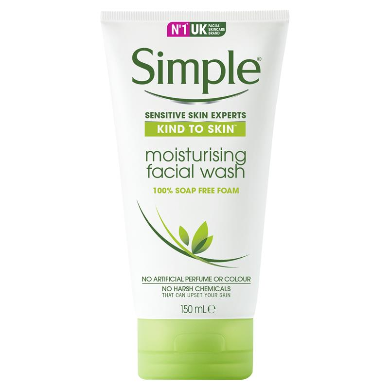 Pity, simple moisturising facial wash regret