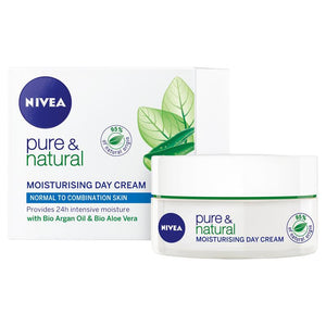 Nivea Visage Pure & Natural Moisturising Day Cream 50ml
