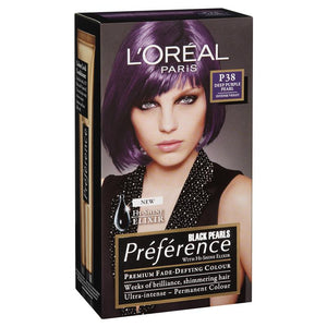 L'Oreal Feria Preference P38 Deep Purple