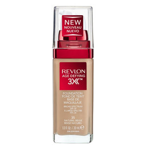 Revlon Age Defying Firming & Lifting Makeup Natural Beige