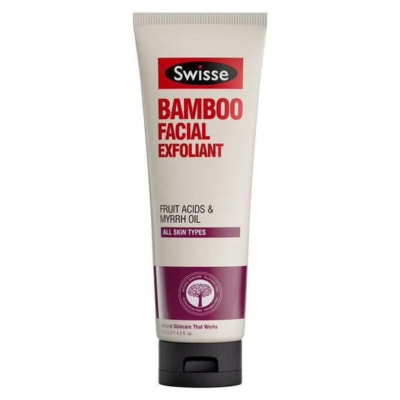 Swisse Bamboo Facial Exfoliant 125ml