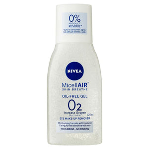 Nivea Visage Daily Essentials Micellar Eye Make Up Remover Gel 125ml
