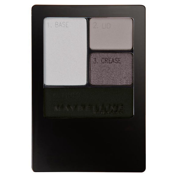 Maybelline Expert Wear Eye Shadow Quad Charcoal Smokes