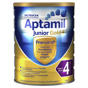 Aptamil Gold+ 4 Junior Nutritional Supplement From 2 years 900g