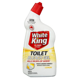 White King Powerclean Toilet Gel Lemon 700ml
