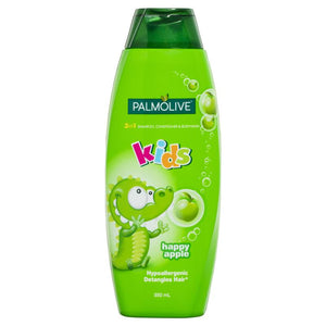 Palmolive Kids Happy Apple 3 in 1 Shampoo Conditioner & Body Wash 350ml