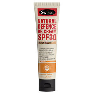 Swisse Natural Defence BB Cream SPF 30 Medium Beige 60ml