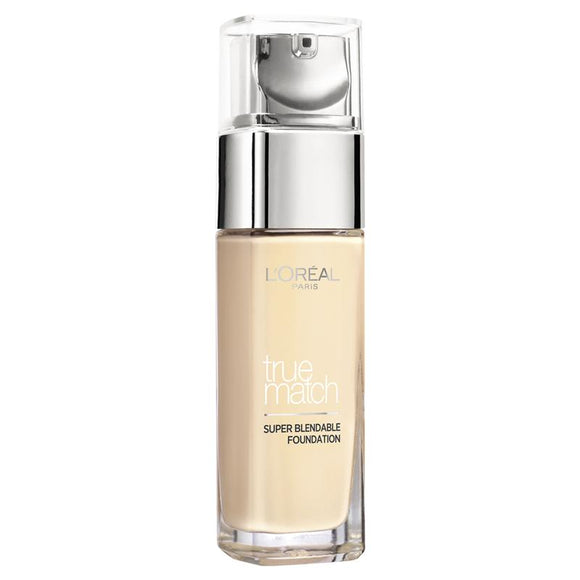 L'Oreal True Match Foundation 1W Golden Ivory 30ml