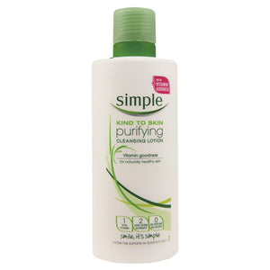 Simple Purifying Cleansing Lotion 200ml