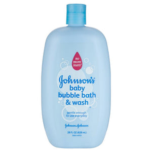 Johnson's Baby Bubble Bath & Wash 828mL