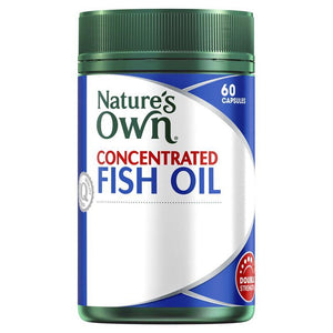 Nature's Own Concentrated Fish Oil 60 Capsules