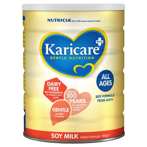 Karicare+ Soy Milk Infant Formula All Ages From Birth 900g