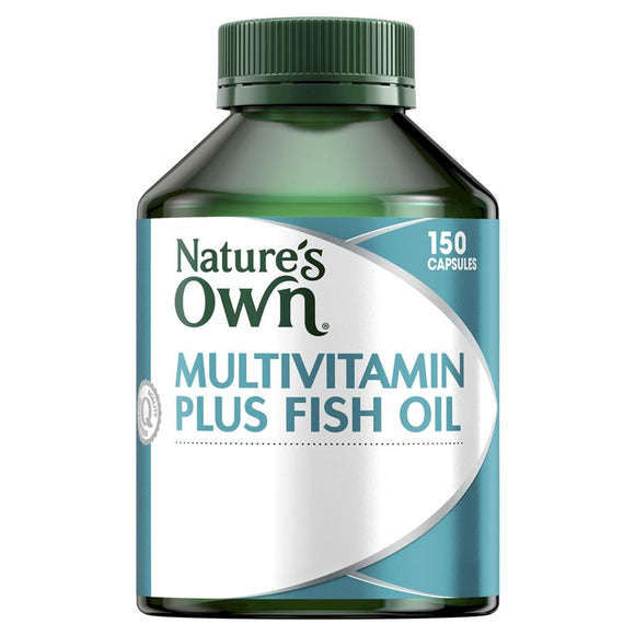 Nature's Own Multivitamin Plus Fish Oil 150 Capsules