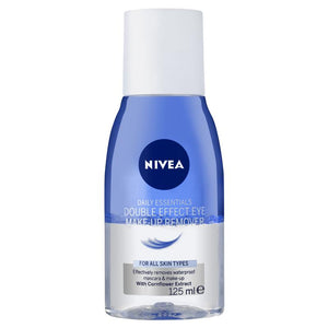 Nivea Daily Essentials Double Effect Eye Makeup Remover 125ml