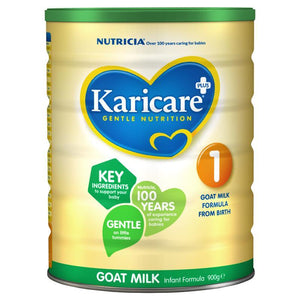 Karicare+ Goats' Milk Infant Formula From Birth 0-6 Months 900g