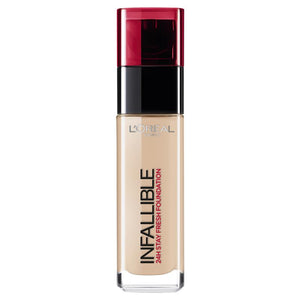 L'Oreal Infallible Liquid Foundation 145 Rose Beige 30ml