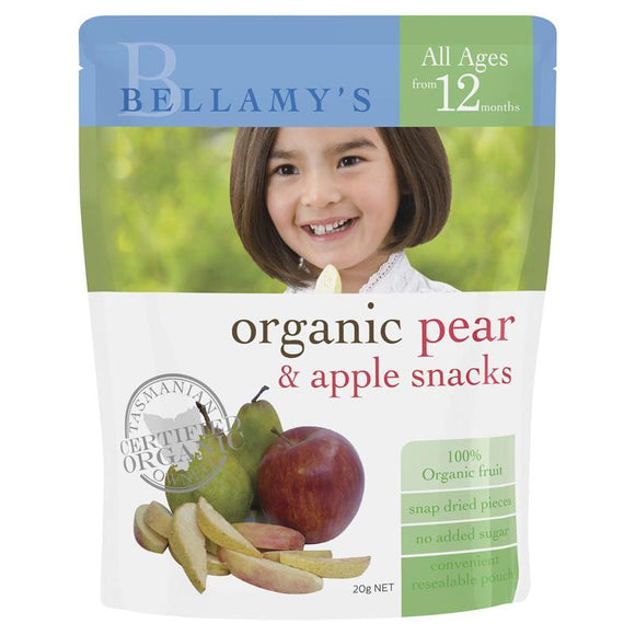 Bellamy's Organic Apple and Pear Fruit Snacks