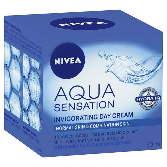 Nivea Visage Aqua Sensation Invigorating Day Cream 50ml