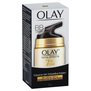 Olay Total Effects Touch of Foundation Moisturiser with SPF15 50g