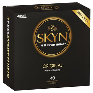 Ansell Skyn Original Condoms 40 Pack
