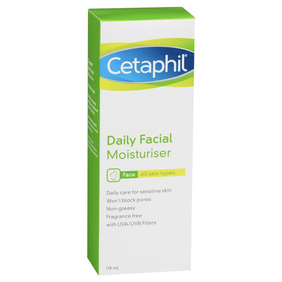 Cetaphil Daily Facial Moisturiser 118ml