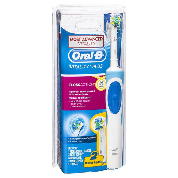 Oral-B Vitality Plus Floss Action Rechargeable Electric Toothbrush
