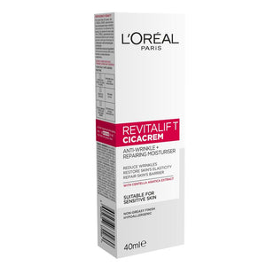 L'Oreal Paris Revitalift Cicacrem Centella Repair Anti Wrinkle Restoring Cream 40ml
