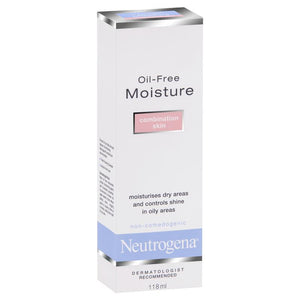 Neutrogena Oil-free Moisture Combination Skin Facial Moisturiser 118 mL