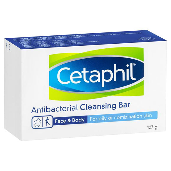 Cetaphil Antibacterial Bar 127g