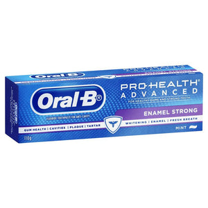 Oral B Pro Health Advanced Enamel Strong Toothpaste 110g