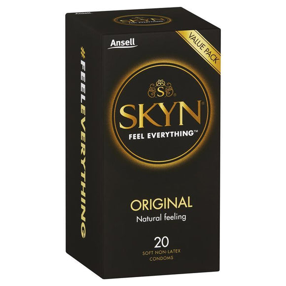 Ansell Skyn Original Condoms 20 Pack