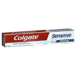 Colgate Toothpaste Sensitive Whitening 110g
