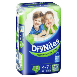 Huggies DryNites Boy 4+ Years 10 Pack